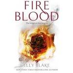 Fireblood: The Frostblood Saga Book Two Pape... Elly Blake
