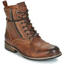 b791e77d532 Pepe jeans Kotníkové boty MELTING Hnědá
