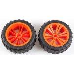 REVELL UTIONS 47032 Set 2x Wheel for Monster orange