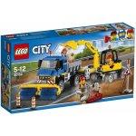 LEGO City 60152 Zametací vůz a bagr