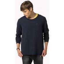 Tommy Hilfiger pánský tmavě modrý svetr Basic