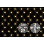 diLED světelný závěs - 200 LED teple bílá + napájení OEM D02183