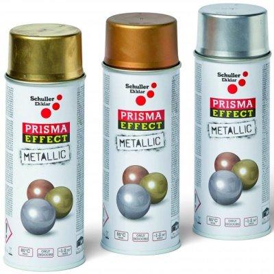 Schuller Eh'klar Prisma Color 91043 Sprej zlatý metalický 400 ml