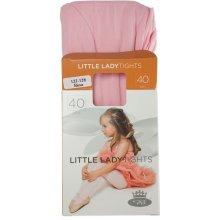 BOMA Dívčí punčochové kalhoty silonky II Světle růžová