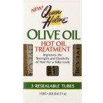 Queen Helene Olive Oil vlasový zábal pro lesk a hebkost vlasů (Hot Oil Treatment) 3 x 30 ml