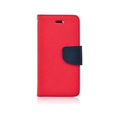Pouzdro Fancy Diary Book Samsung J320F Galaxy J3 2016 červené