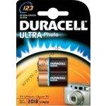 Baterie Duracell Ultra DL123 2ks