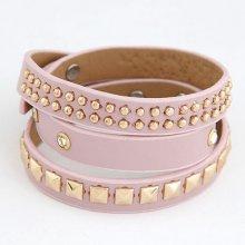 Náramek Bagisimo Růžový pásek 182330909