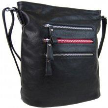 elegantní dámská crossbody kabelka NH6059 černá 41d3c45302a
