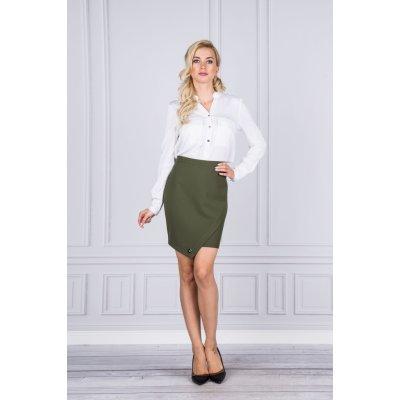 La Blanche zavinovací sukně M38662 zelená