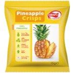 Crispy Natural Sušený Ananas 15g