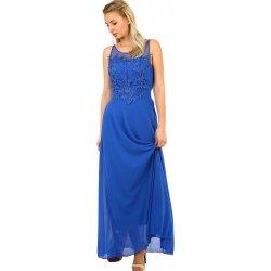 903077c44c75 Společenské dlouhé dámské šaty 418240 modrá od 2 820 Kč - Heureka.cz