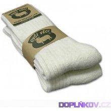 ponožky z ovčí vlny merino 2ks