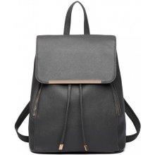 b770ba27b3e Miss Lulu elegantní batoh 1669 tmavě šedý