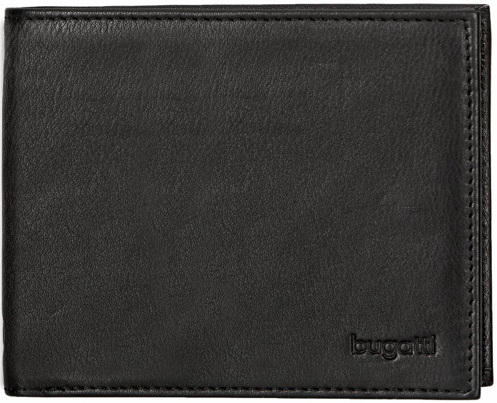 Bugatti Pánská kožená peněženka SEMPRE 49117801 černá a5b82b7a05