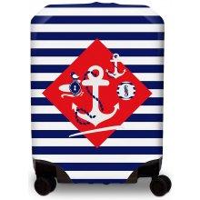 BG Berlin Hug Cover M Navy Sense - Obal na kufr