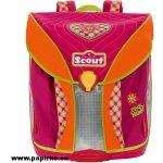 Scout batoh růžové srdíčko