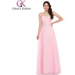 Grace Karin luxusní plesové šaty dlouhé CL6107-2 růžová od 1 765 Kč ... 5544d6aa96