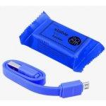 SES 90010016 USB nabíjecí Micro USB, modrý