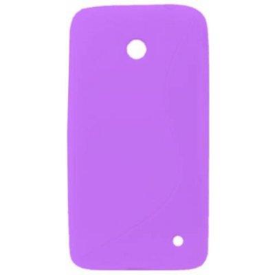 Pouzdro Forcell S Case Nokia Lumia 630 Lumia 630 Dual Sim Lumia 635 fialové