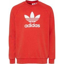 40dbada53 Adidas Originals Mikina TREFOIL CREW oranžově červená od 1 599 Kč ...