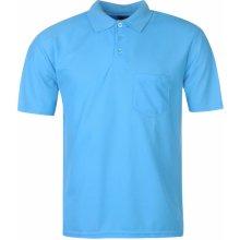 Donnay Pocket Polo Shirt Mens Royal