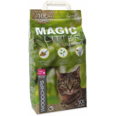 Magic Cat Litter Woodchips ) 10 l (4,3 kg