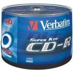 Verbatim CD-R 700MB 52x, printable, 50ks (43309)