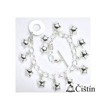 ČIŠTÍN s.r.o. 267076938 stříbrný náramek řetízek