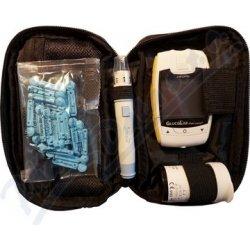 GlucoLab Glukometr a 25 ks test. proužků + 25 lancet