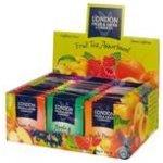 London Herb Display ovocných čajů 8 x 10 x 2 g