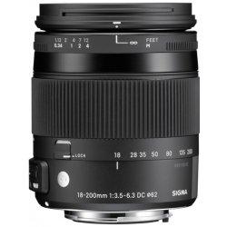 Sigma 18-200mm f/3,5-6,3 DC Macro OS HSM Canon