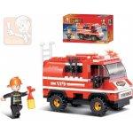 Sluban Auto požární 133 dílků