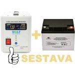 Recenze VSelektro záložní zdroj 300W sinus ZZ20 + AKU 40Ah