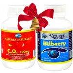 Australian Remedy Bioaktivní CoQ10 60 cps. + Bilberry 5000 mg 100 cps.