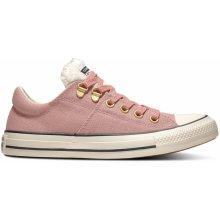 bee5ef901dd Converse pudrové nízké tenisky Chuck Taylor All Star Madison OX Rust Pink
