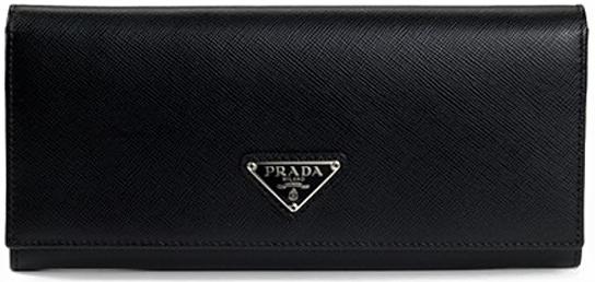 Kožená peněženka PRADA black metal saffiano alternativy - Heureka.cz 1e67aea7a59