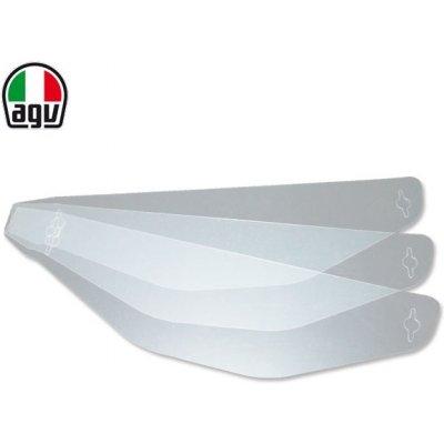 Strhávací fólie pro plexi (tear-off system) - pro přilby AGV PISTA GP R, CORSA R (3ks)