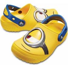 185a5c6c4ab Crocs Fun Lab Minions Clog Kids Yellow
