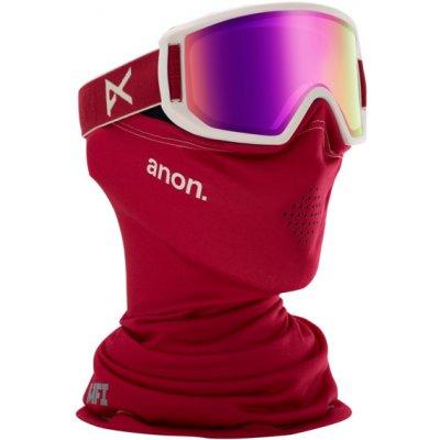 anon. Dětské Brýle anon. Relapse Jr. Goggle + MFI® Face Mask Barva: Berry / Pink Amber
