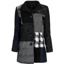 Desigual dámský kabát Rosita černá