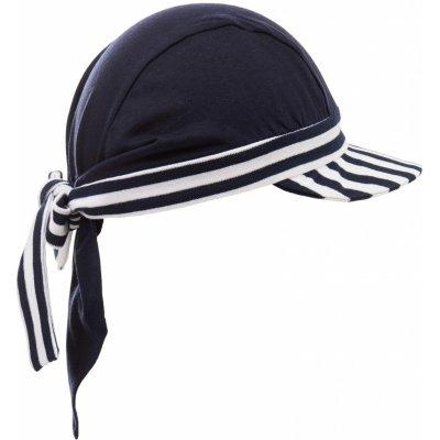 Pirátský šátek s kšiltem námořnický