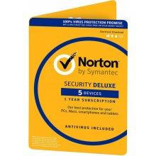 Symantec NORTON SECURITY DELUXE 3.0, 5 lic. 12 mes. ESD (21358352)