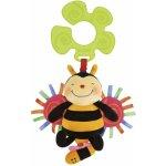 K´s Kids Včelka chrastící natahovací s úchytem na kočárek