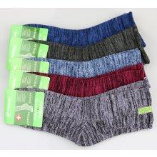Pesail dámské bavlněné termo ponožky melír 3 páry d8e4a06483