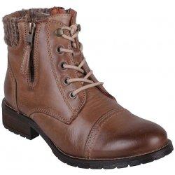 7c0848982ed Dámská kožená kotníková obuv KLONDIKE 626110