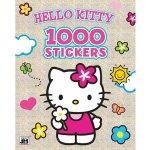 Jiri Models set Omalovánky + 1000 samolepek Hello Kitty