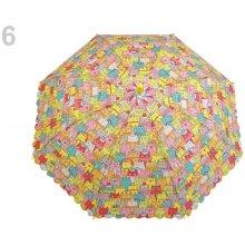 Dětský vystřelovací deštník s píšťalkou 6 žlutá narcisová 6ee2e5d1c7