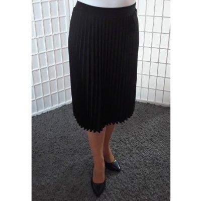Plisovaná sukně černá