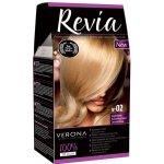 REVIA barva na vlasy 02 BRIGHT BLONDE Jasný blond 50 ml + 20 ml + 50 ml